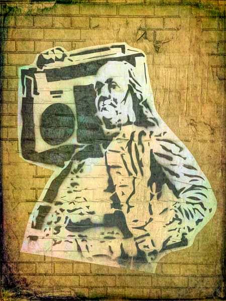 Ben Franklin Boom Box|Fine Art Photography by Todd Breitling|ToddBreitlingArt.com