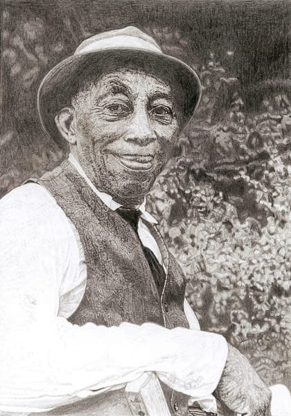 Mississippi John Hurt Art | Digital Arts Studio / Fine Art Marketplace