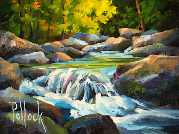 Refresh oil on panel | Sarah Pollock Studio