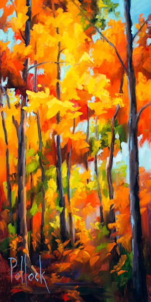 Autumn Gold oil on panel | Sarah Pollock Studio
