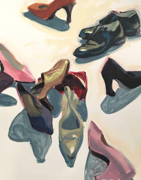 Cluster Of Shoes Art   sheldongreenberg