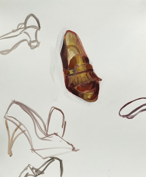 One Loafer Shoe Art   sheldongreenberg