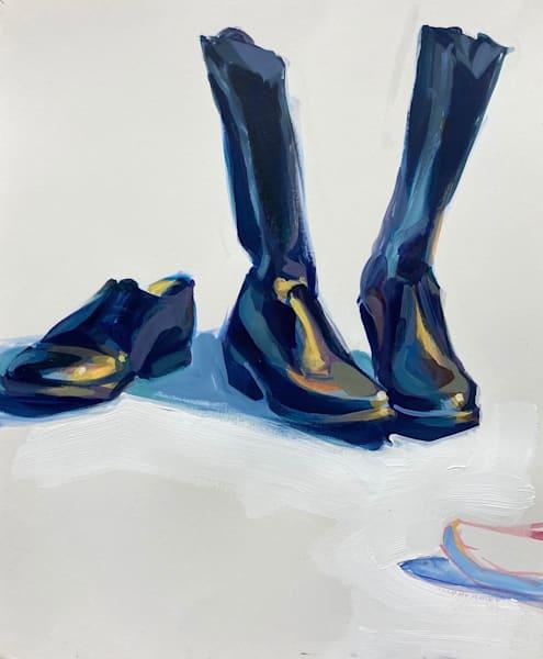 Riding Boots And Shoe Art   sheldongreenberg