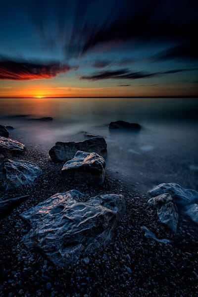 """Sunrise At The Point"" fine art photograph by C A Johnson."