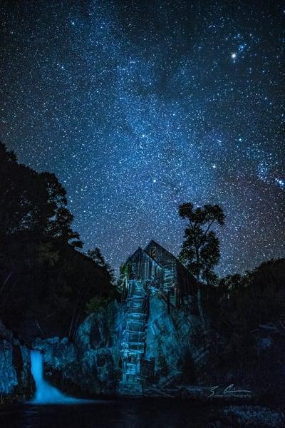 Crystal Mill And Stars Photography Art | Casey Chinn Photography LLC
