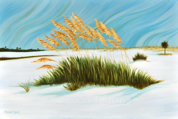Island Oats Art | Margaret Biggs Fine Art