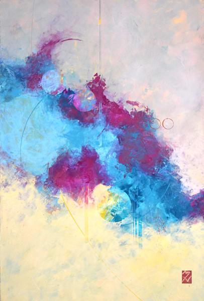 Santa Fe Sun Series V Art | mariannehornbucklefineart