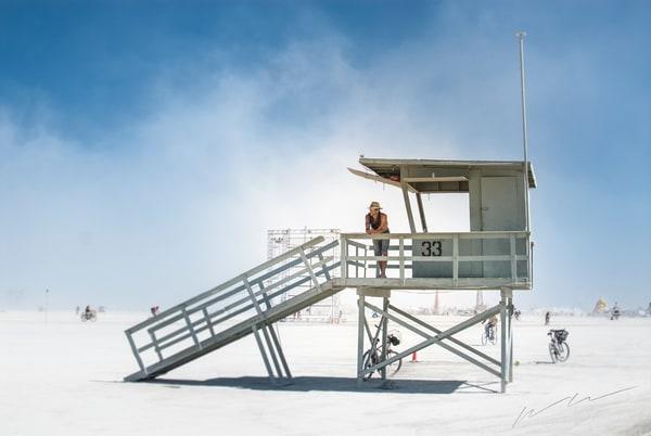 Playa Lifeguard Photography Art   Harry John Kerker Photo Artist