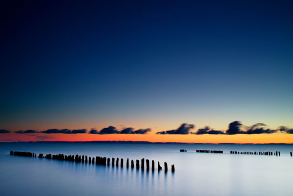 """Whitefish Bay"" fine art photograph by C A Johnson."