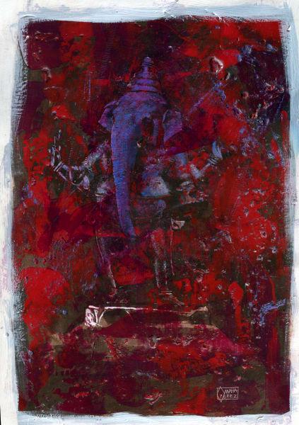 Ganesha01 Art | Omaha Perez Art