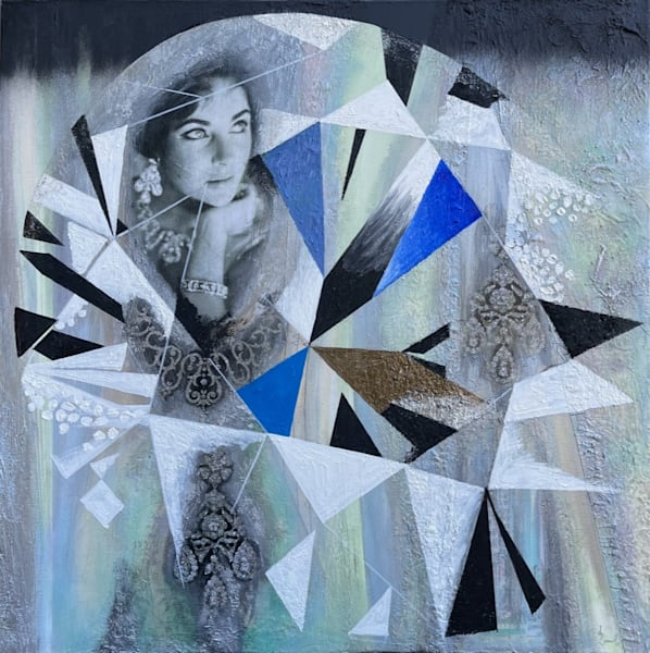 Elizabeth Taylor 'brilliant Cut Diamonds' Art | Cool Art House - online art gallery with hip emerging artists. Collect cool art you can view on your own wall before you invest!