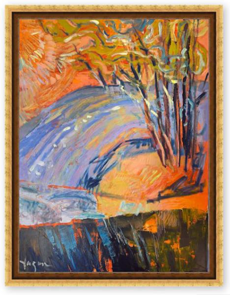 Winter Solstice  Iii Art | Dorothy Fagan Joy's Garden