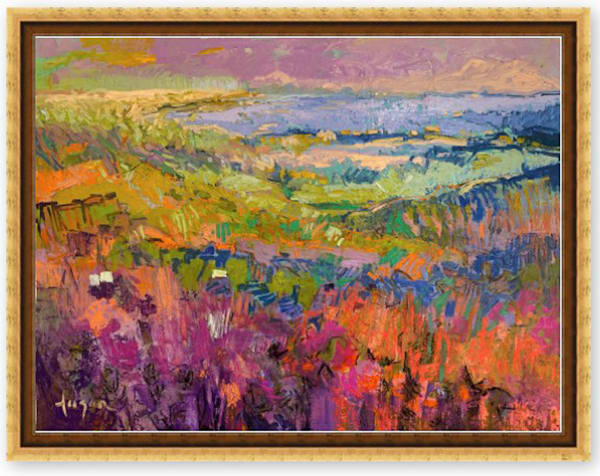 Beautiful Landscape Painting Canvas by Dorothy Fagan
