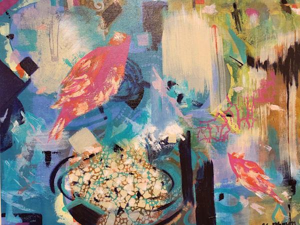 Mystic Feeder Art | Authentic Soul Studio