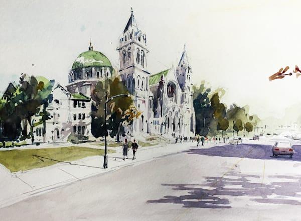 Stl Basilica Cathedral Art | Steven Dragan Fine Art