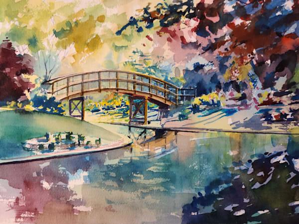 Stl Botanical Gardens 1 Bridge Art | Steven Dragan Fine Art