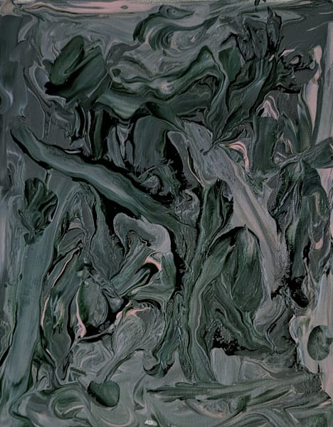 Squiggle Series - Green
