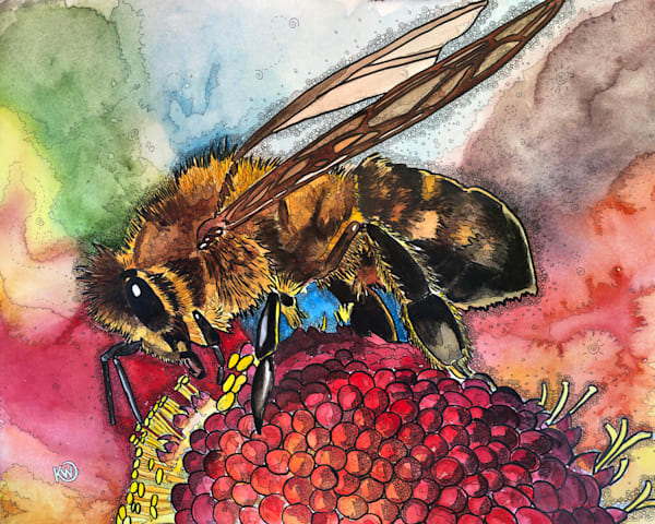 Pollen Feast Art | Water+Ink Studios