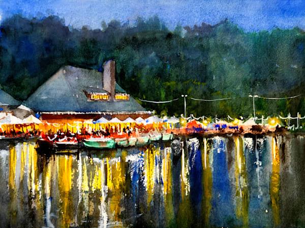 Stl Boathouse Forest Park Art | Steven Dragan Fine Art