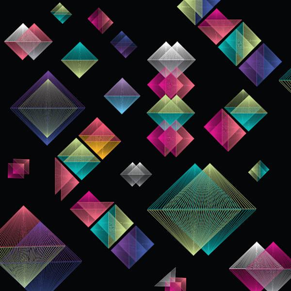 space, wall art, graphic design, vortex, art