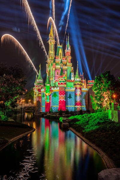 Christmas Fireworks 4 From Tomorrowland Photography Art | William Drew Photography
