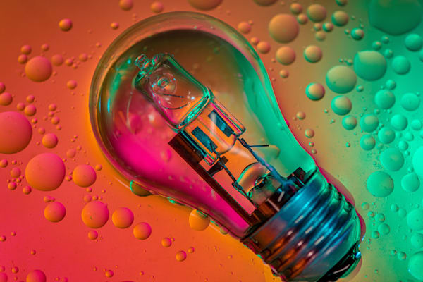 A Bright Idea Photography Art | kramkranphoto