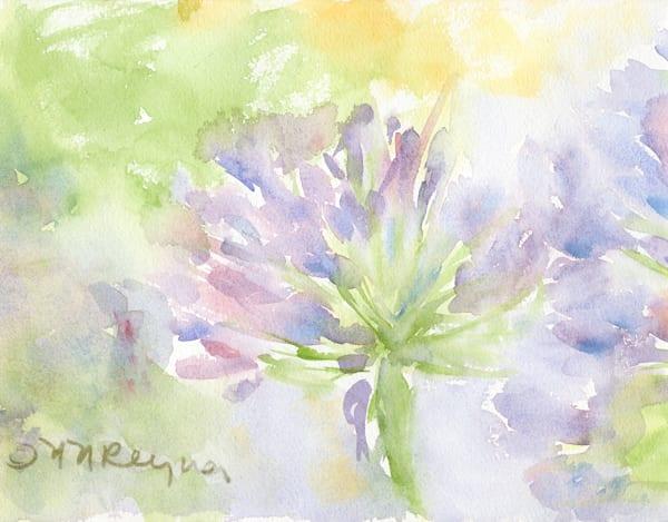 Watery Bloom Art | Nancy Reyna Fine Art