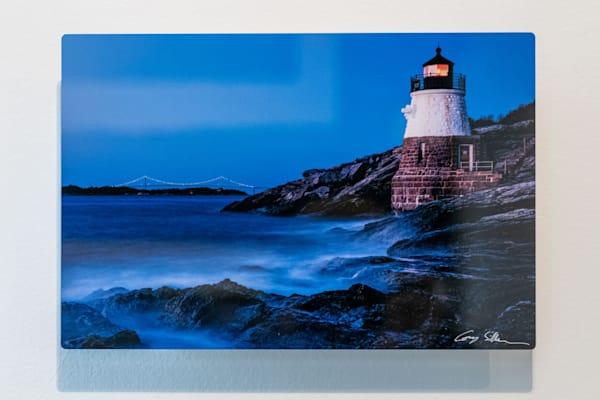 Castle Hill Lighthouse 12x8 Metal | Cory Silken Photography