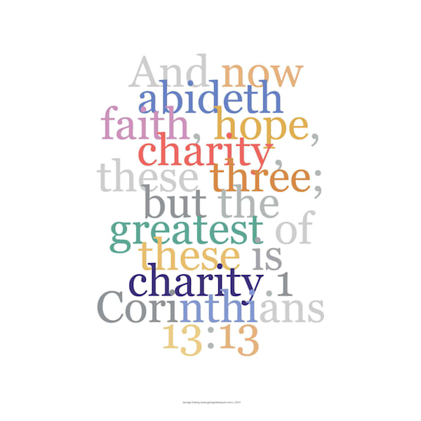 Corinthians 13:13 Faith Verse