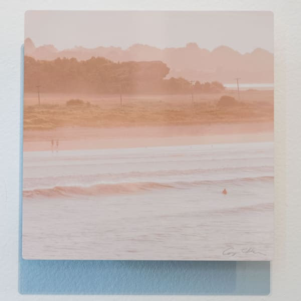 Second Beach And Hanging Rock 8x8 Metal   Cory Silken Photography