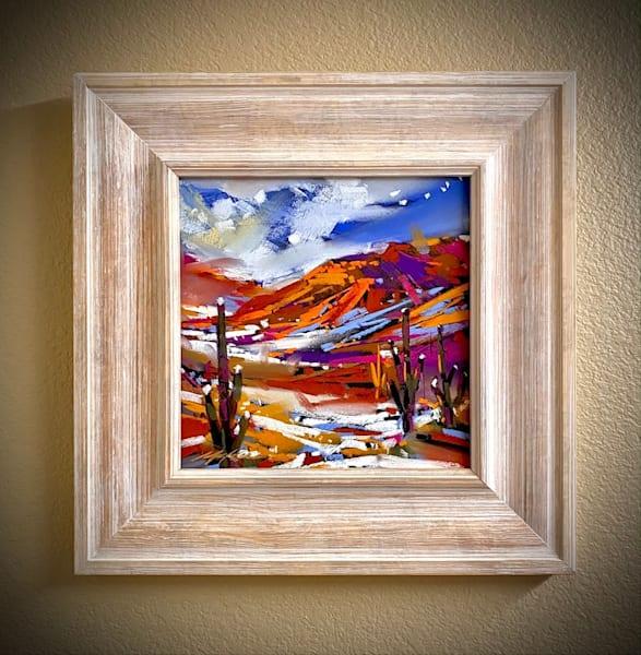 Saguaros Of The Snow Art | Michael Mckee Gallery Inc.