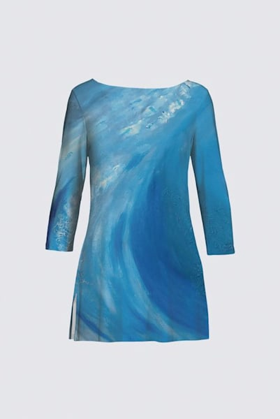 Tunic Wave Designed by Artist