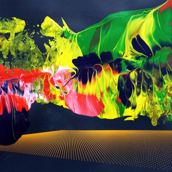 Ghosts In The Nebula Art | Maciek Peter Kozlowski Art