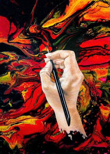 #artlife | Greeting Card by Ashley Koebrick Schmidt