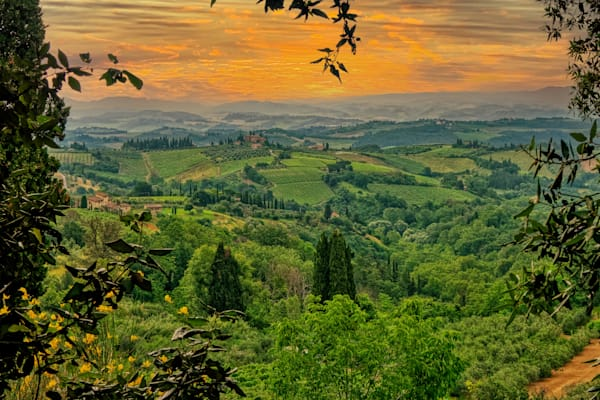 Tuscany Sunset Photography Art | FocusPro Services, Inc.