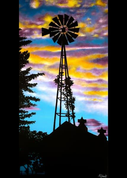 Iowa Sunset Greeting Card | Ashley Koebrick Schmidt