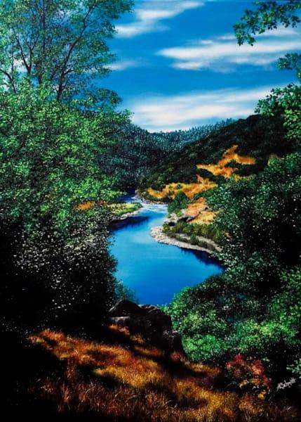 Mountain View Greeting Cards | Ashley Koebrick Schmidt