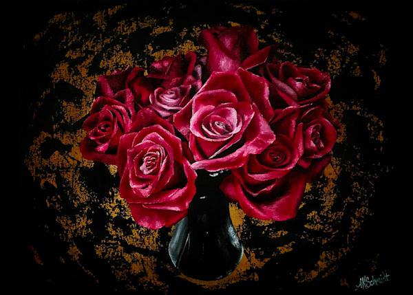 Roses For My Valentine Greeting Cards | Ashley Koebrick Schmidt