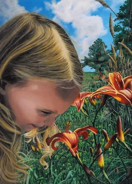 Summer Lilies Greeting Card | Ashley Koebrick Schmidt