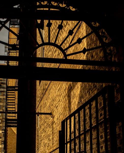 Through An Iron Gate, Nyc Photography Art | Ben Asen Photography