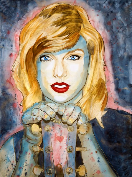 Taylor Swift Art | William K. Stidham - heART Art