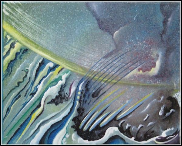 Cloud Burst Art | Dave Jeffers Artist