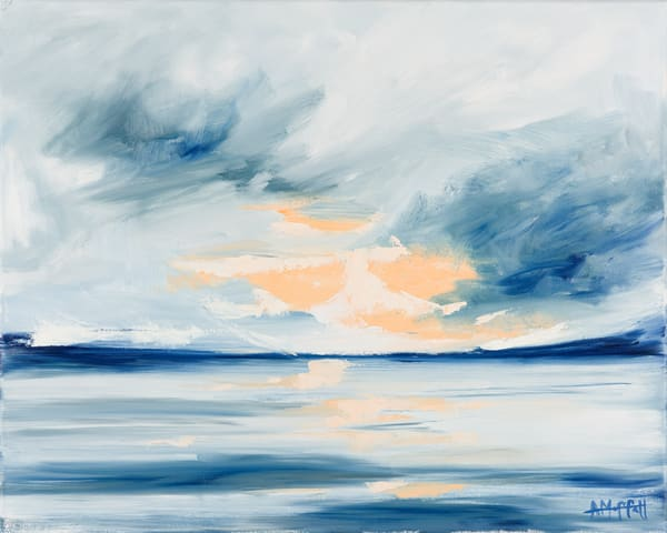 "Giclee Print ""Storm Over The Harbor"" Art Art 