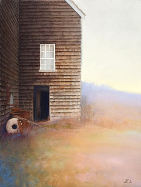 'Millstone' original oil painting for Sale by Ed Little, Bridgewater, CT
