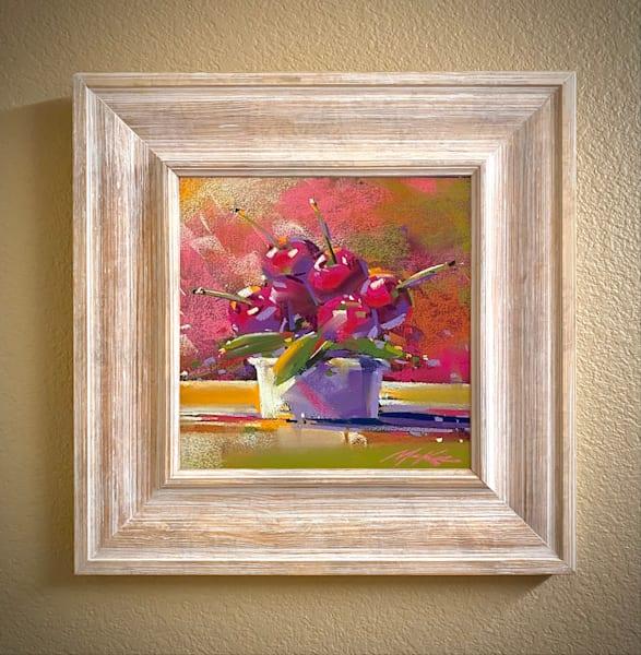 Cherry Bowl #2 Art | Michael Mckee Gallery Inc.