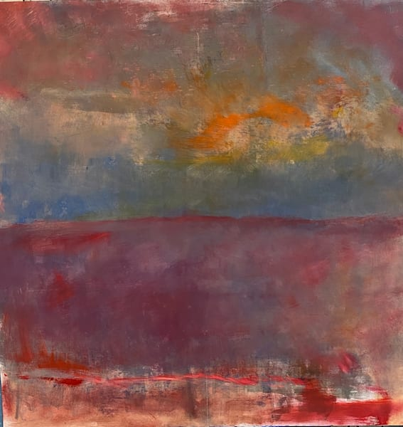 Cranberry Bog   New Hampshire    Oil+Cold Wax On Panel Art | Peter Anderson Studio