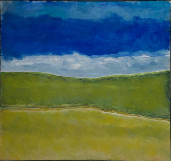 Spring Sky   Co   Oil On Panel   Sold Art | Peter Anderson Studio