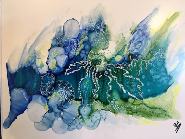 Shades Of Blue Art | Art With Judy Ann