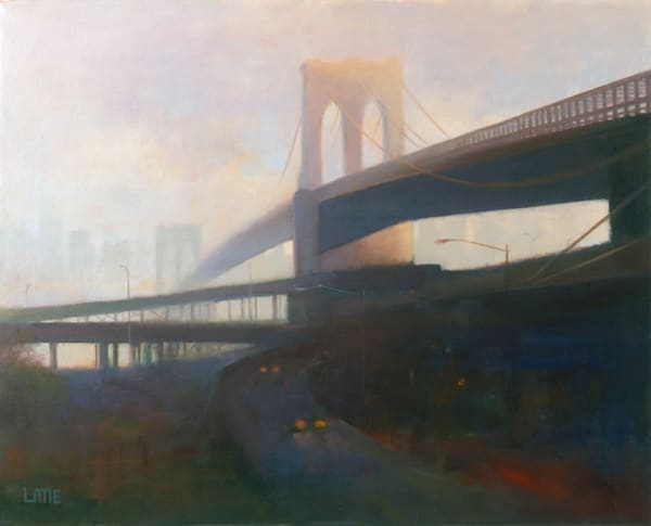 Over The East River  Art | edlittleart