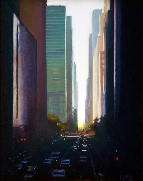 'Vista' print of original oil painting by Ed Little, Bridgewater, CT